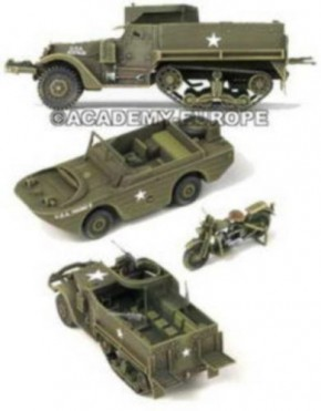 M3 U.S.Half Track, 3 Fahrzeuge