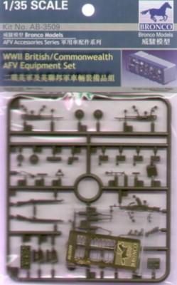 WWII brit./Commonwealth AFV Equipment