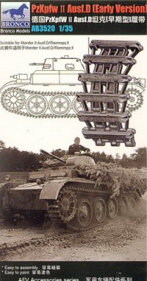 PzKpfw.II Ausf D. (early version) track link set