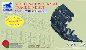 ital.C-1 Ariete MBT workable track link set