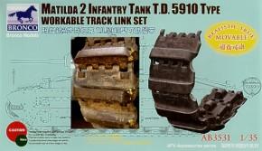 Matilda 2 T.D.5910 Type workable track link set