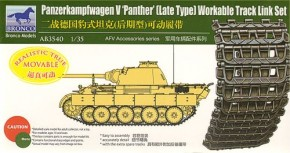 Panther late type workable track link set