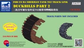 Duckbills M4 for T62 track link