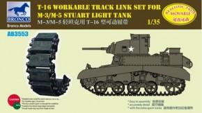 T-16 workable track link set for M-3/M-5 Stuart