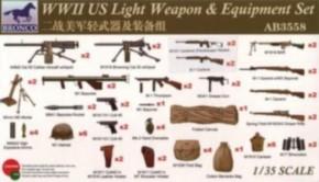 WWII US Light Weapon & Equipment Set