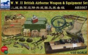 brit. WWII Airborne Weapon & Equipment