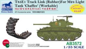 T85E1 Track Link Rubber für M24 Chaffee