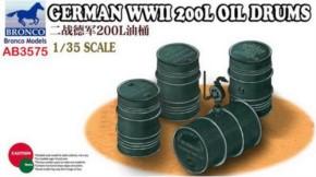 dt. WWII 200l Ölfässer