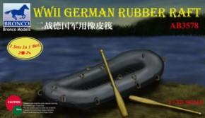 dt. WWII Schlauchboot