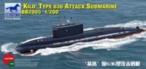 Russian 636 Kilo Class attack Submarine