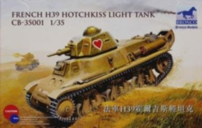 H 39 Hotchkiss Light Tank