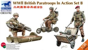 WWII Brit. Paratroops in action Set B