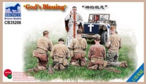 God´s Blessing  6 Figuren und Fahrzeug