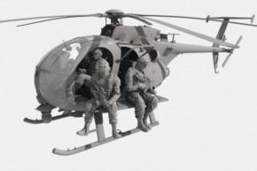 AH-6J/MH-6J Little Bird mit Figuren