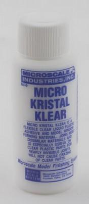 Micro-Kristal Klear, Kleber für Klarsichteile