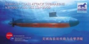 USS SSN-21/22 Seawolf Class