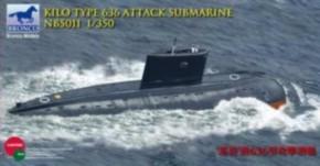 Kilo class attack submarine