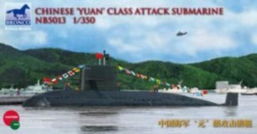 Chinese Yuan class attack Submarine