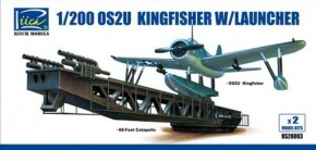 OS2U-3 Kingfisher w/launcher, 2 x