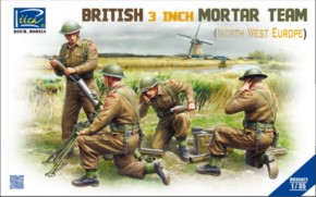brit. 3 inch Mortar Team Set Northwest Europe