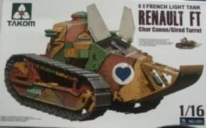 Renault FT char Canon/ Girot Turret