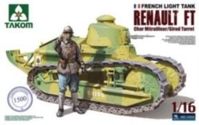 Renault FT-17 MG mit Figur, limitiert