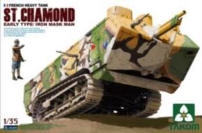 fr. heavy tank St. Chamond early type