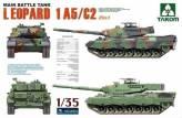 Leopard 1A5/C2 6 & 1 Figur