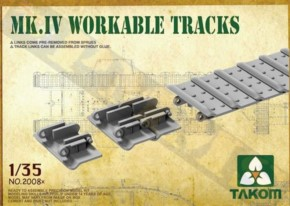 Tank Mk.IV Workable Tracks, cement free