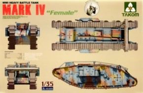WWI Heavy Battle Tank Mk.IV Female