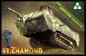fr. heavy tank St. Chamond late type