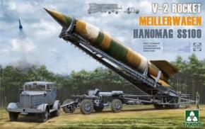 V-2 Rakete mit Meillerwagen und Hanomag SS100