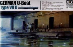 German U-Boat Type VIID