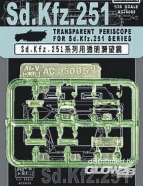 klare Periskope für Sd.Kfz. 251 Serie