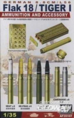 Munition für Flak 18 36/37 und Tiger I