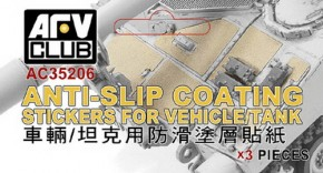 Anti-Slip Coating Stickers for Vehicles