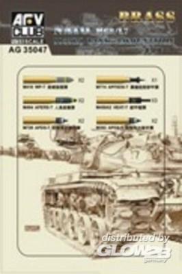 M68/L7 105mm Ammunition Model Kit