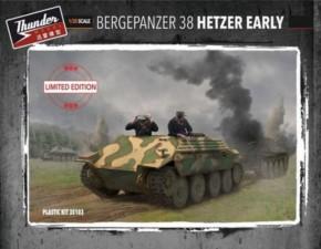 Bergepanzer 38 Hetzer früh, limitiert