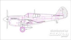 P-40E Kitty Hawk Fighter