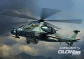 chin. Z10 Attack Helicopter