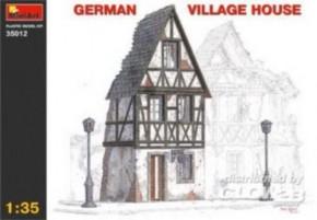 deutsches Fachwerkhaus, Plastik, sehr detaill.