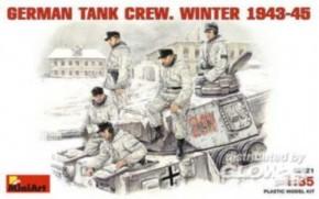 dt. Panzerbesatzung Winter 43-45, 5 Figuren