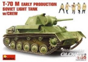 T-70 M früh, mit Crew