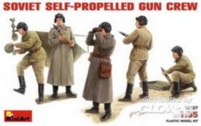 sovietische SPG Crew, 5 Figuren