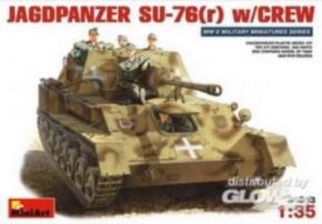 dt. Jagdpanzer SU-76 (r) mit Crew