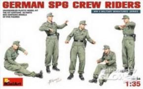 dt. SPG Crew Riders, 5 Figuren