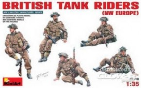brit. Tank Riders NW Europe