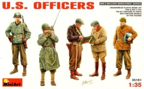 US Officers, 5 Figuren