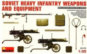 sov. Heavy Infantry Weapons and Equipment