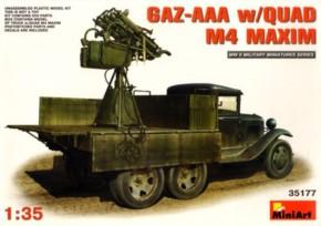 GAZ-AAA w/Quad M-4 Maxim